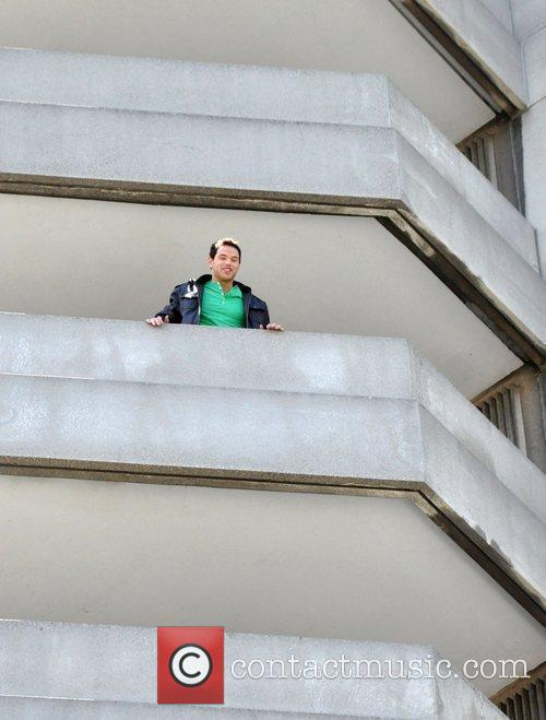 Twilight star, Kallan Lutz on the 4th floor...