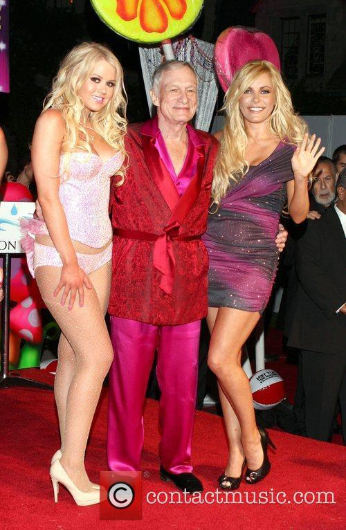 Anna Berglund, Hugh Hefner and Playboy 1