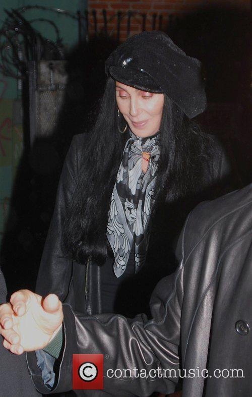 Cher leaving a party at the Kantor Gallery...