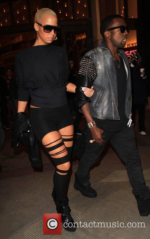 Kanye West and Amber Rose 4