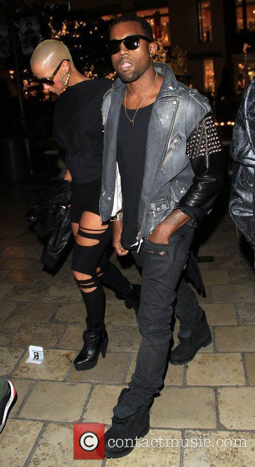 Kanye West and Amber Rose 1