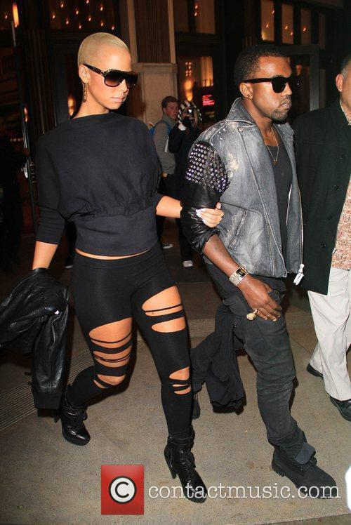 Kanye West and Amber Rose 3