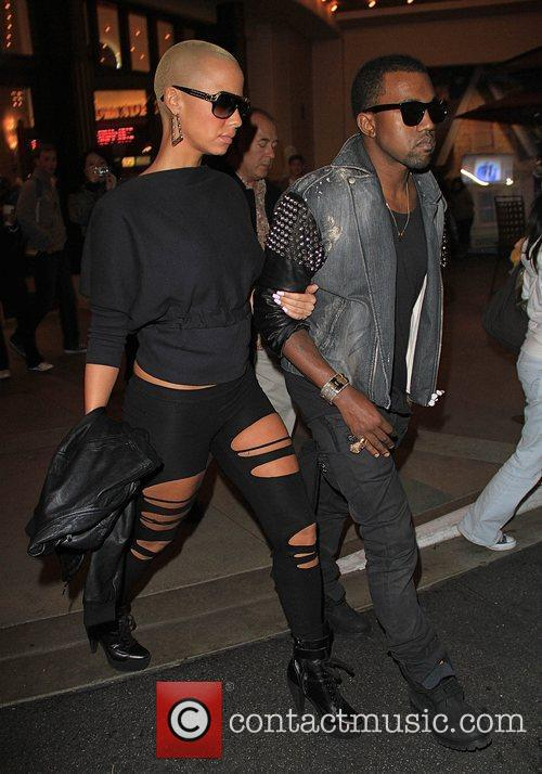 Kanye West and Amber Rose 8