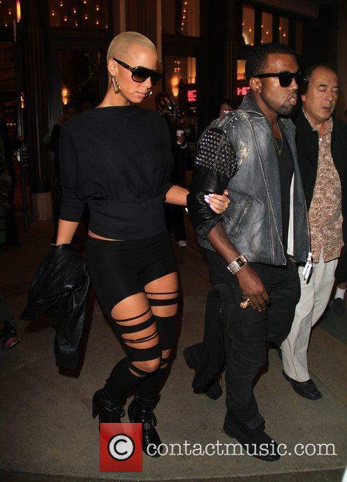 Kanye West and Amber Rose 6