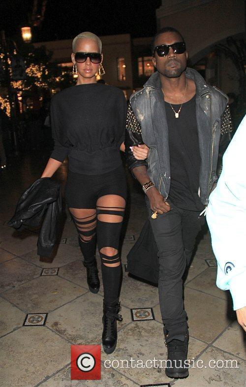 Kanye West and Amber Rose 2
