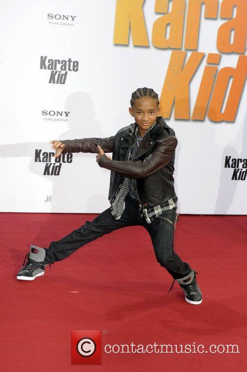 At the German premiere of Karate Kid at...