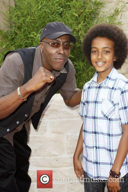 Arsenio Hall and Son Arsenio Jr 3
