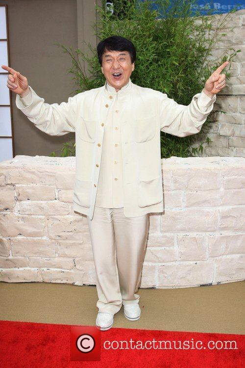 Jackie Chan The LA Premiere of 'The Karate...