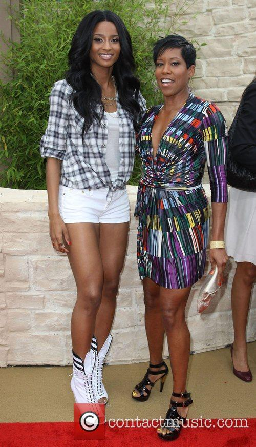 Singer Ciara, Regina King  The LA Premiere...