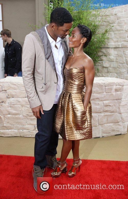 Will Smith, Jada Pinkett Smith The LA Premiere...