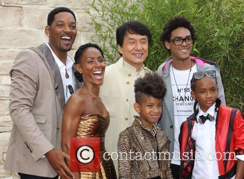 Will Smith, Jada Pinkett Smith, Jackie Chan, Willow...