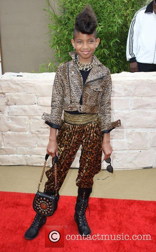 Willow Smith The LA Premiere of 'The Karate...