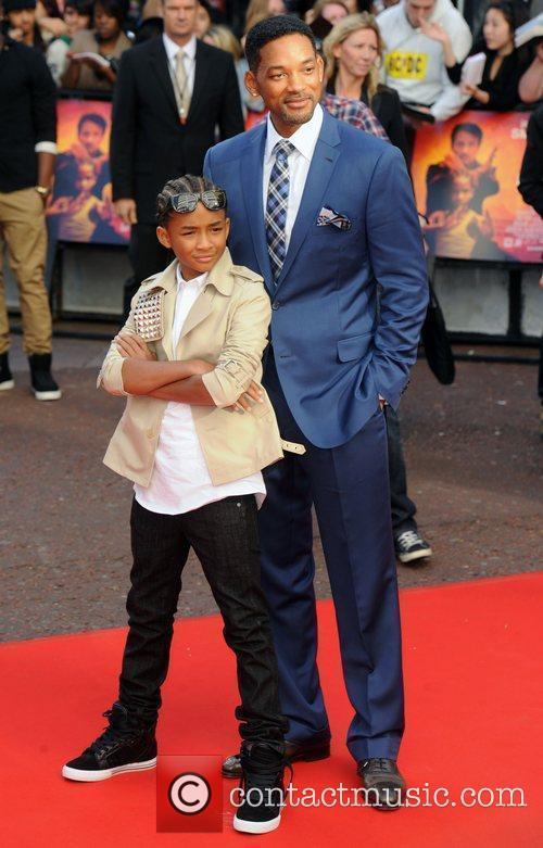 Jaden Smith and Will Smith