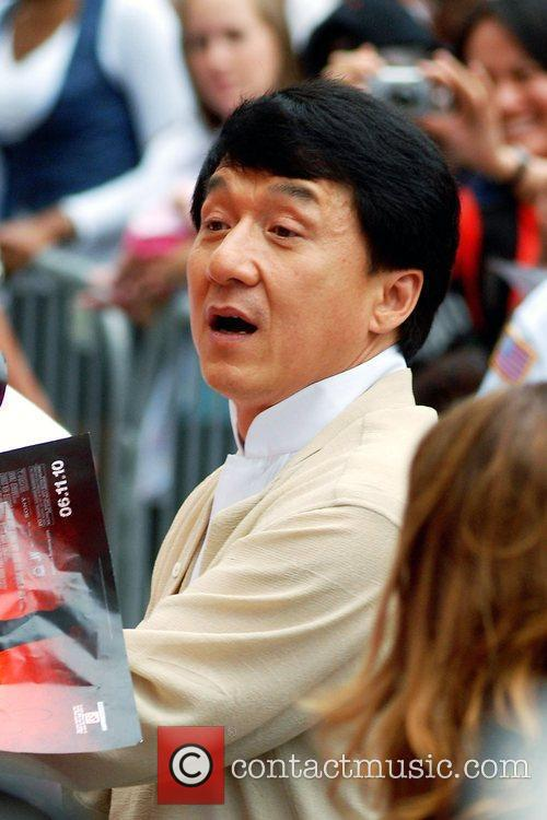 Jackie Chan  Chicago premiere of 'The Karate...