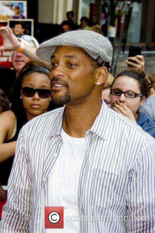 Will Smith  Chicago premiere of 'The Karate...