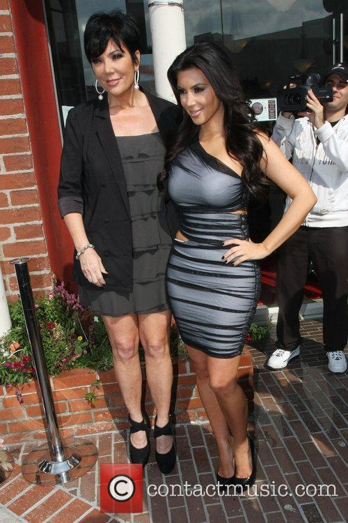 Kim Kardashian and Mom Kris Jenner 3
