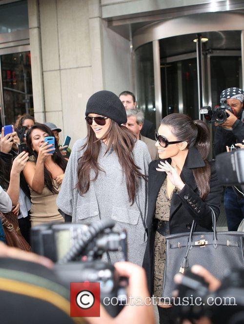 Khloe Kardashian and Kim Kardashian 8