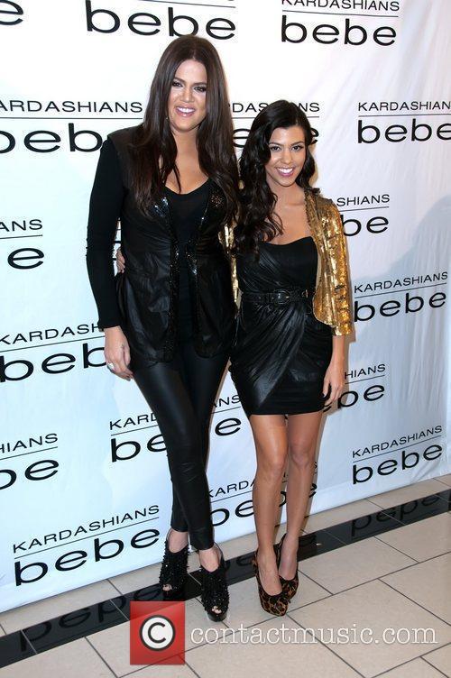 Kourtney and Khloe Kardashian Kourtney and Khloe Kardashian...
