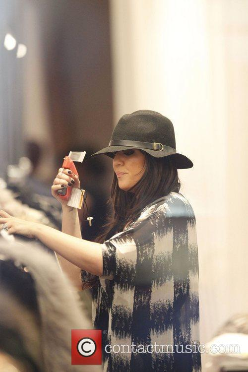Khloe Kardashian at the opening of the Dash...