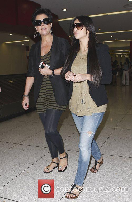 Kim Kardashian and her mum Kris Jenner 1