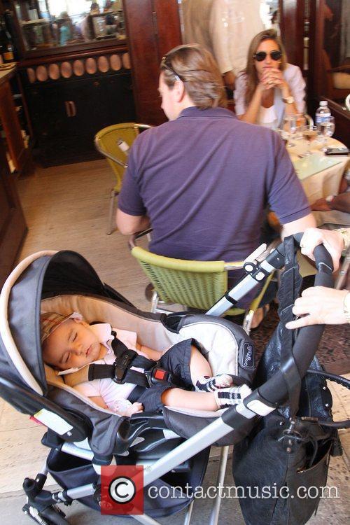 Mason Dash Disick at Cipriani restaurant New York...