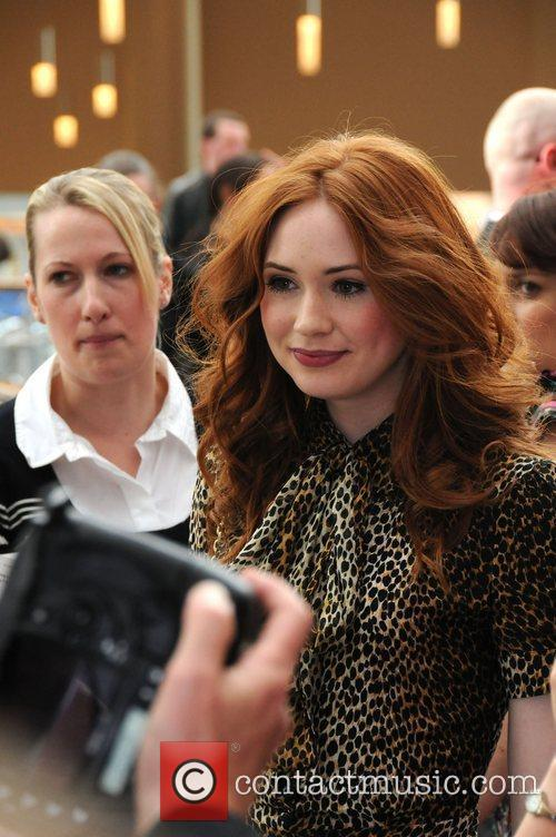 'dr Who's' Karen Gillan, Doctor Who and Karen Gillan