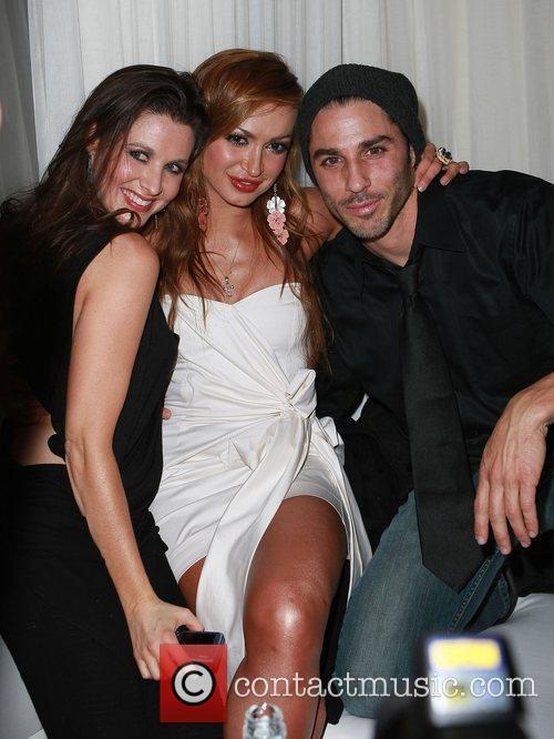 Celebrates her birthday at Pure Nightclub Inside Caesars...