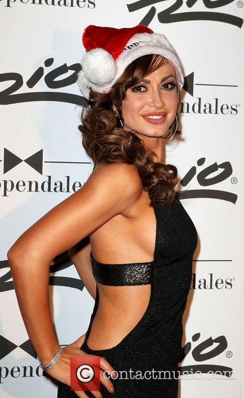 Karina Smirnoff of 'Dancing With The Stars' celebrates...