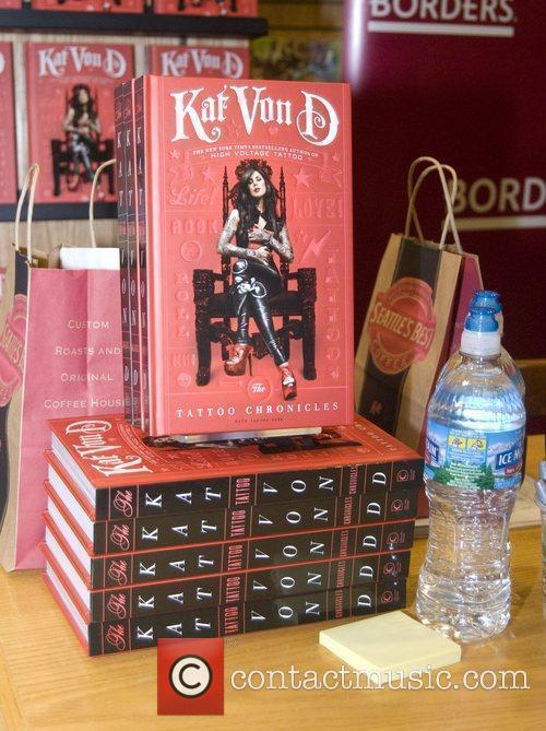 Kat Von D and Tattoo 2