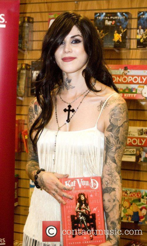 Kat Von D and Tattoo 1