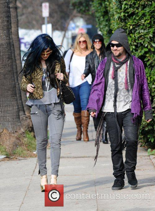 Kat Von D and Bam Margera 6