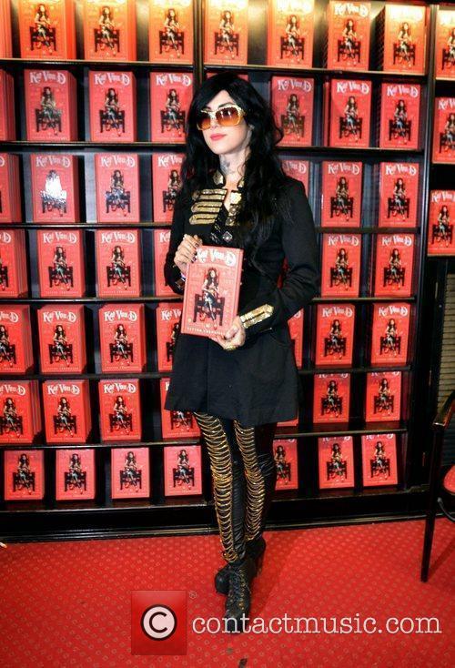 Kat Von D signs her book 'The Tattoo...