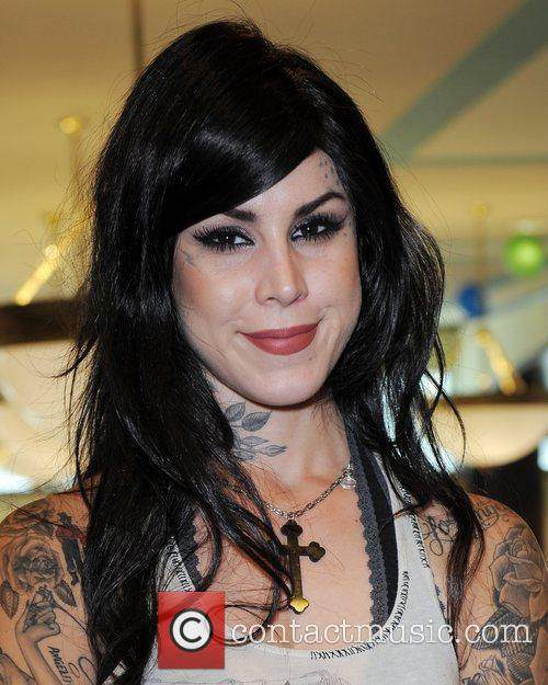 Kat Von D and Tattoo 8
