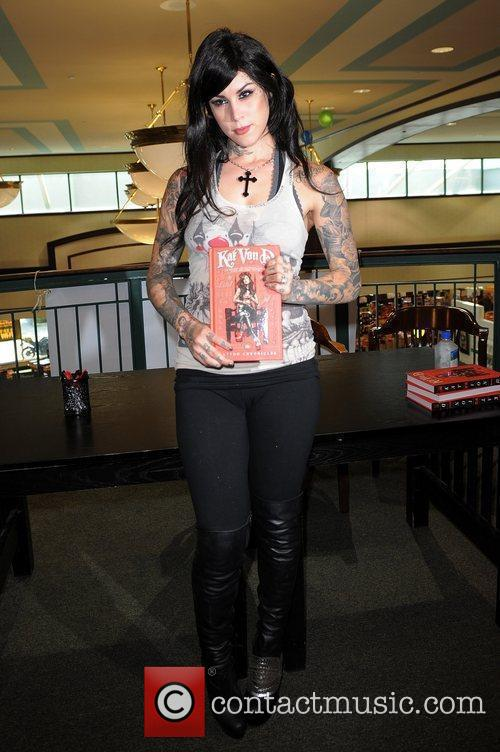 Kat Von D and Tattoo 3