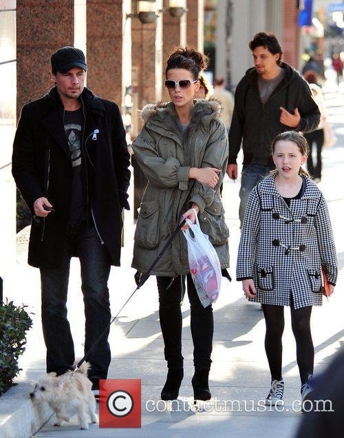 And her husband Len Wiseman shop in Santa...