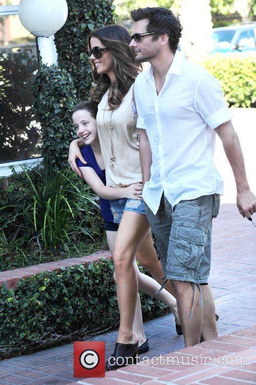 Kate Beckinsale and Len Wiseman 8