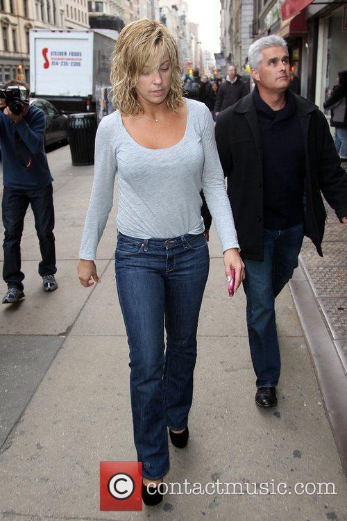 Kate Gosselin seen arriving at a dance studio...