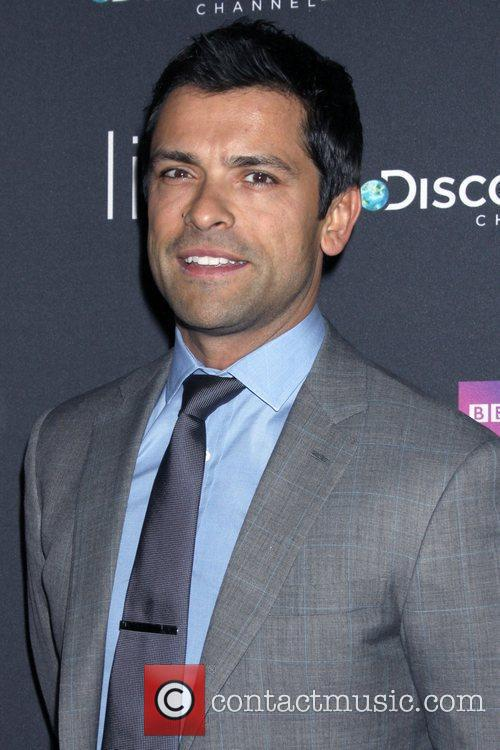 Mark Consuelos Premiere of Discovery Channel's 'Life' at...