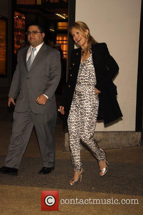 Kate Hudson leaving her hotel in Manhattan. New...