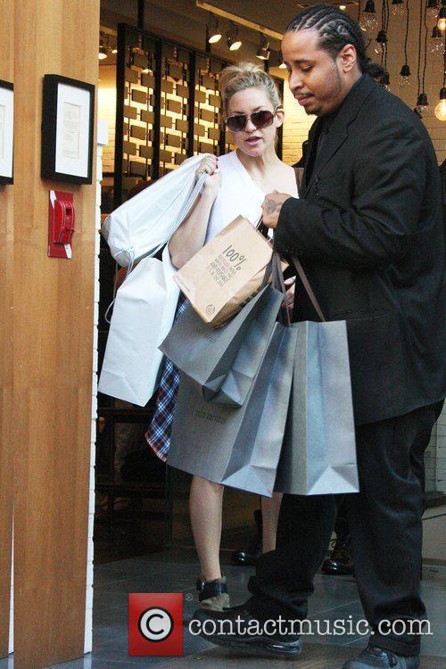 Kate Hudson leaving John Varvatos on Spring Street...