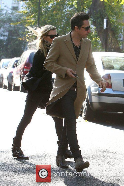 Kate Moss and Jamie Hince out and about...