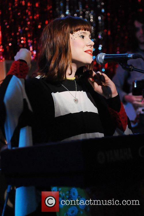 Kate Nash performing live at the Bethnal Green...