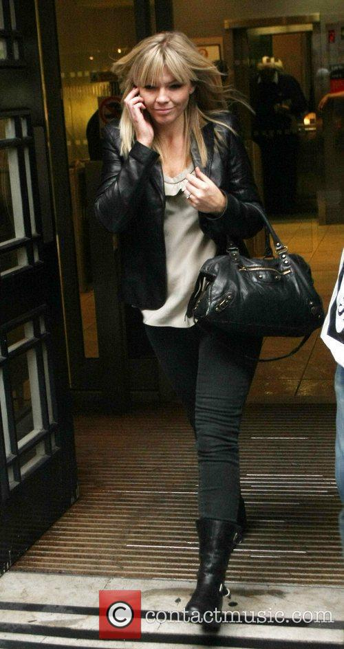 Leaving the Radio 2 studios