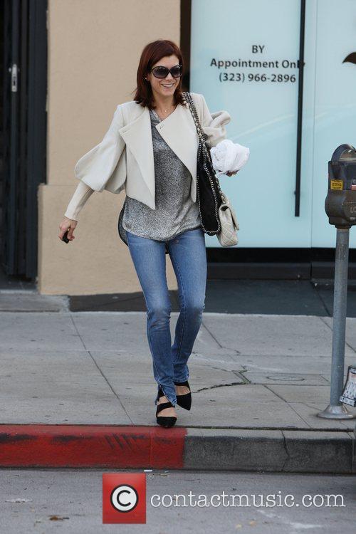 Kate Walsh leaving a hair salon  Los...