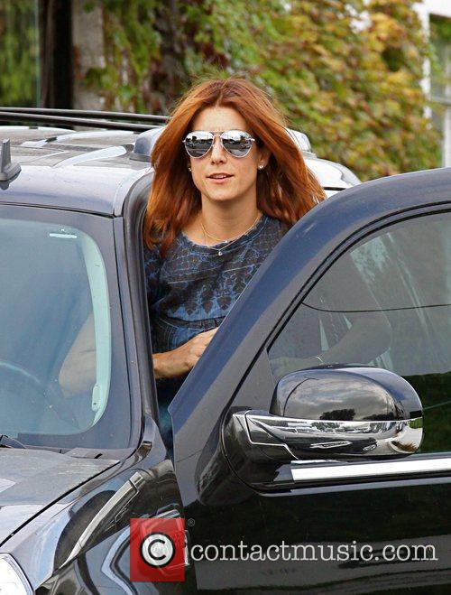 Kate Walsh departs the Andy Lecompte Salon Los...