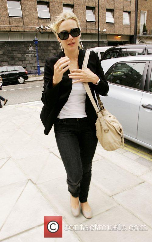 Kate Winslet leaving her London hotel London, England