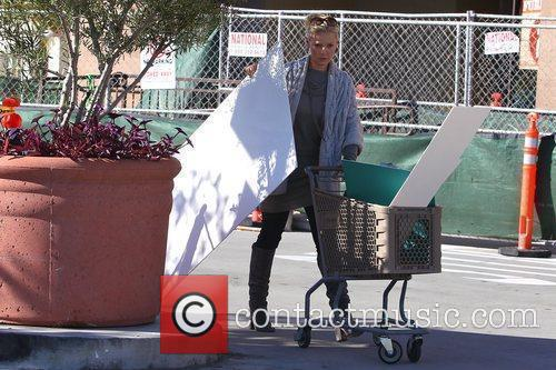 Katherine Heigl shopping at Michaels Store in Glendale