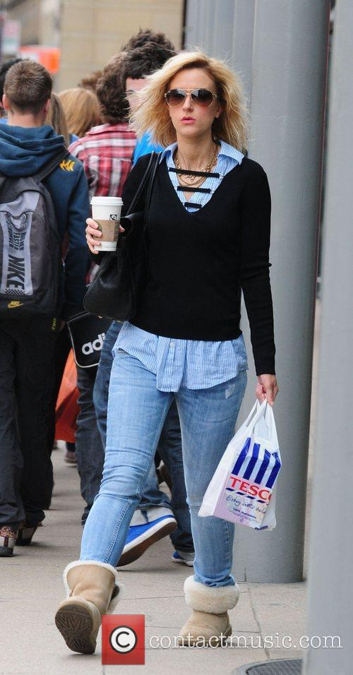Katherine Kelly  shopping at the Manchester City...