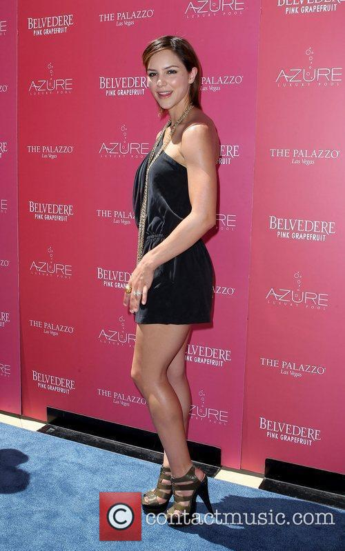 Katherine McPhee Kicks-off 'Stereo Love Saturdays' at Azure...