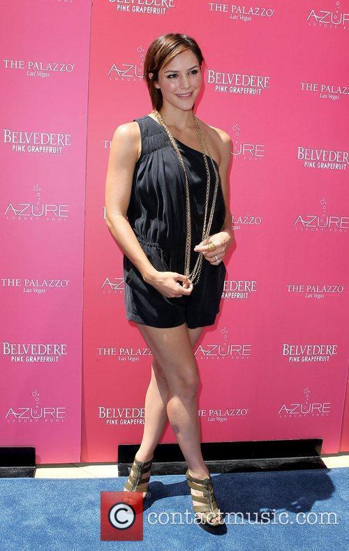 Katherine McPhee Kicks-off 'Stereo Love Saturdays' at Azure...